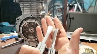 Motorcycle Flywheel Removal. How To Pull A Flywheel. Honda Titan Unicorn CG CBF 150