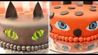Two-sided Miraculous Birthday Cake Ladybug And Cat Noir