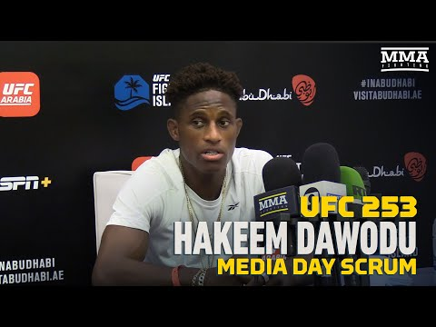 UFC 253: Hakeem Dawodu Reacts to Colby Covington's Controversial Remarks - MMA Fighting