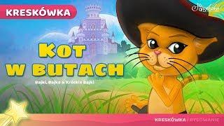 Kot w Butach bajki dla dzieci po Polsku | Bajka na Dobranoc