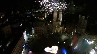preview picture of video 'Lichterfest 2014 Halle Saale'