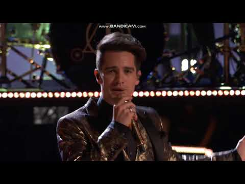 """Panic! At The Disco performing """"Say Amen"""" on The Voice Semi-Final 2018"""