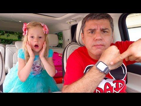 Настя и развивающие песенки для детей видео