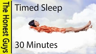 SLEEP FOR 30 MINUTES. Guided Sleep TALK-DOWN with SERENE OCEAN WAVES (Timed)