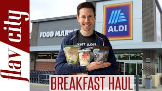 Shopping At ALDI For Healthy Breakfast Items...With Recipes!