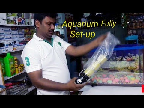 Freshwater Aquarium Set-up & Decoration ideas 2018