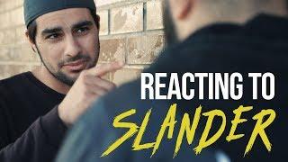 REACTING TO SLANDER, GOSSIP & RUMORS #Fitnah