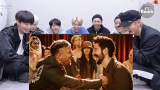 BTS Reaction To Camilo, Pedro Capó   Tutu (Official Video)