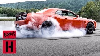 Vinny Smashes the New 797hp HellCat Red Eye Wide Body SCAT Pack