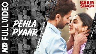 Full Song: Pehla Pyaar | Kabir Singh | Shahid Kapoor, Kiara Advani | Armaan Malik | Vishal Mishra