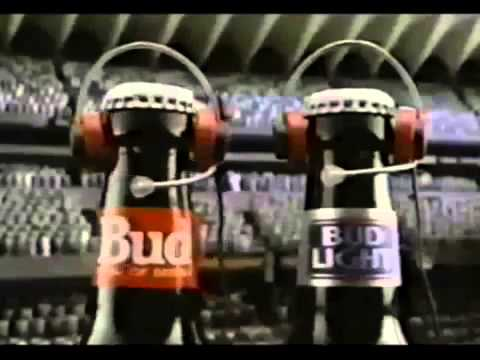 Budweiser Commercial for Bud Light (1989) (Television Commercial)