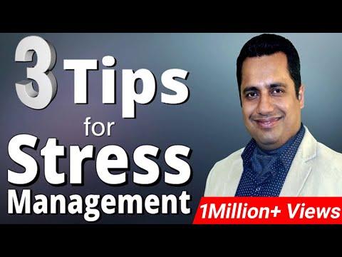 Stress Management Strategies Motivational Video in Hindi by Vivek Bindra