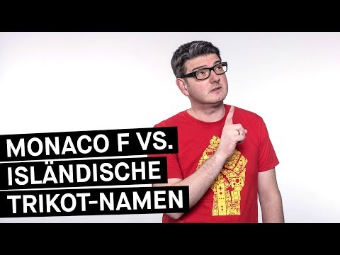 Fußball WM 2018    Island vs. Bayern: Trikot-Namen-Battle    Monaco F