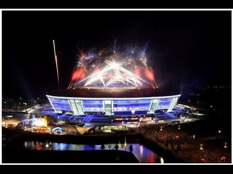 Донбасс Арена - церемония открытия стади