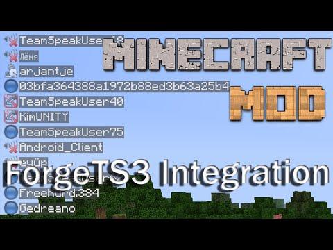 Minecraft Mods : Forge TeamSpeak 3 Integration - 1.7.10 - ITA