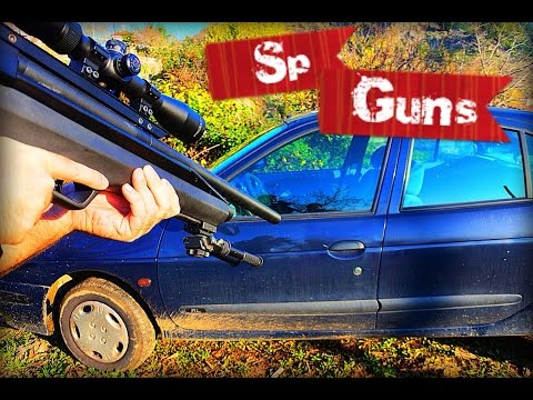 Will a 25 cal airgun pellet go through a car door..??