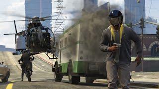Посадить самолет в городе? Легко! [#CRAZY LS] GTA Online PS4
