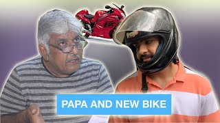 Papa and New Bike ⎜Super Sindhi