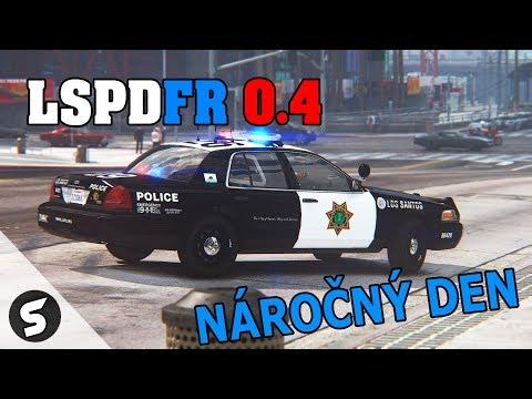 GTA V : LSPDFR 0.4 - #19 Náročný den