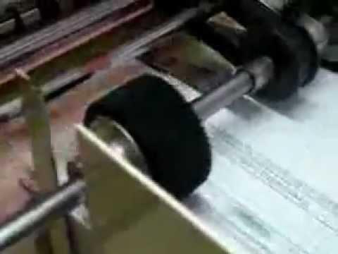 Imprenta Foliadora Numeradora y troqueladora