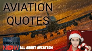 Aviation Quotes! Passionate  about FLYING!
