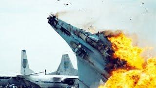 Смотреть онлайн Подборка: Авикатастрофы с военными самолетами