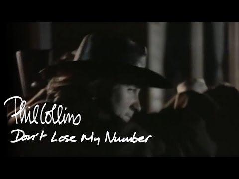 Phil Collins - Don't Lose My Number video