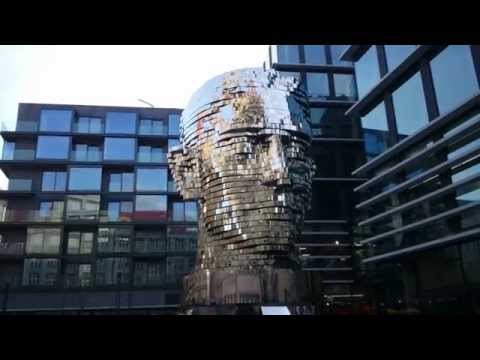 This Twisting Giant Metal Statue Would Make Kafka Proud