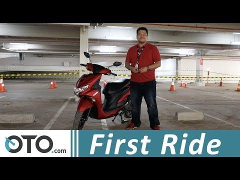 Yamaha FreeGo S ABS | First Ride | Skutik 125 cc Pertama Pakai Rem ABS | OTO.com