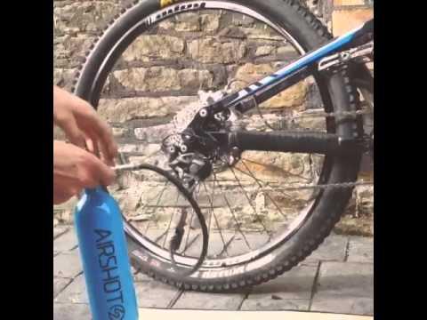 Airshot Kompressorflaske video