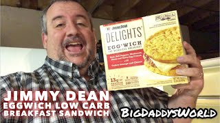 Jimmy Dean Eggwich Low Carb Breakfast Sandwich (2018)