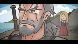 Ведьмак 3 - Мультфильм (юмор)