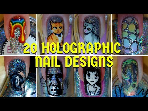 20 Holographic Nail Art Designs | Ultimate Holosexual Compilation | Nail Art Compilation #5