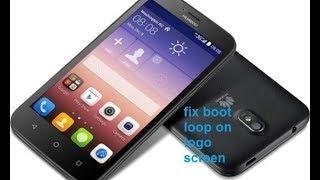 Huawei Model Y625-u32 Hang On LOGO fix By Flash File - Free