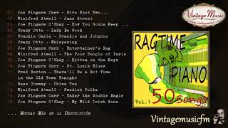 50 Piano Bar, Ragtime Songs (Full AlbumÁlbum Completo) Vol. 1, Honky Tonk