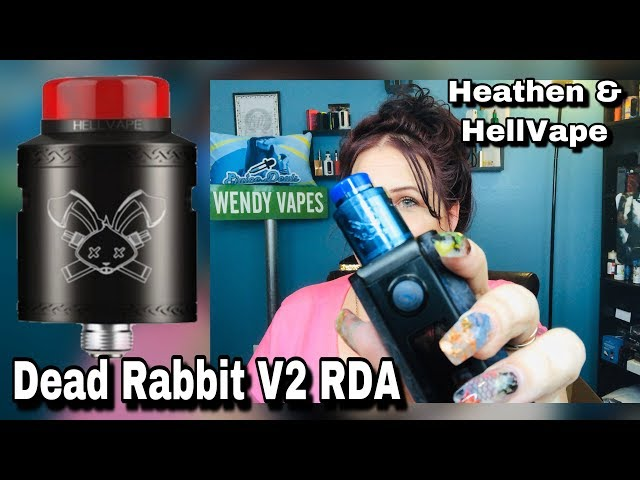 Dead Rabbit V2 RDA | Dual & Single Build | Heathen & HellVape