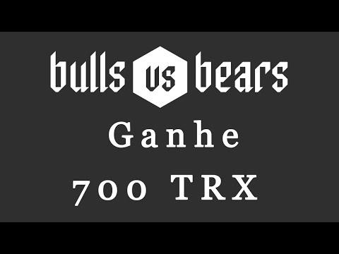 Ganhe 700 TRX Gratuitamente no Evento de Giveaway BULLS VS BEARS !!!