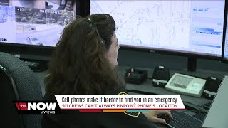 A warning from 911 dispatchers: 'Give your location first!'
