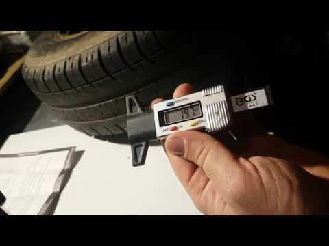 Jauge de profondeur digital pour pneu