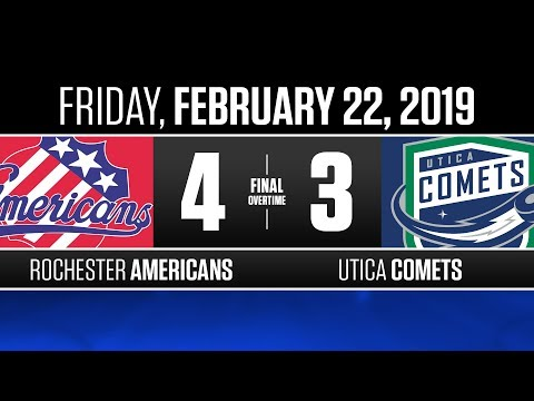 Americans vs. Comets | Feb. 22, 2019