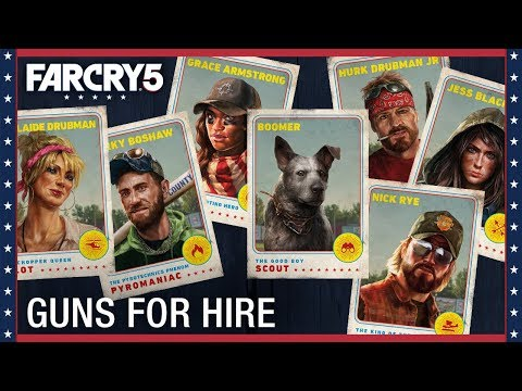 far cry 4 how to use guns for hire pc