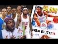 Playing The Rarest And Worst Basketball Game Ever Nba E