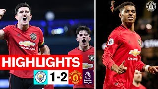 Rashford & Martial seal Derby win for the Reds | Man City 1-2 Manchester United | Highlights
