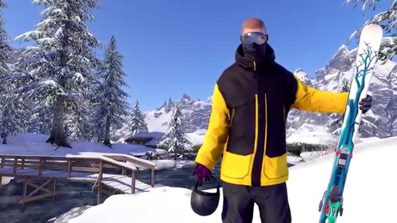 Open-world Winter Sports Game SNOW Coming to PS4