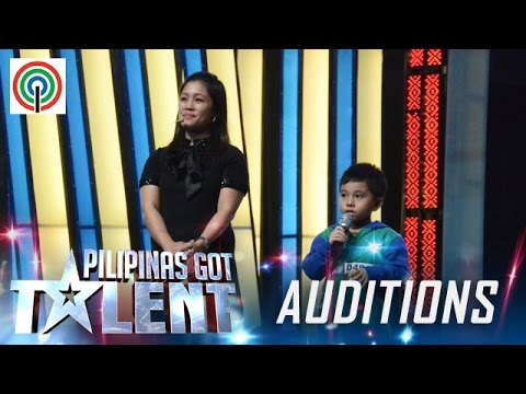 Pilipinas Got Talent Season 5 Auditions: Sam and Jeng – Mother and Gifted Son