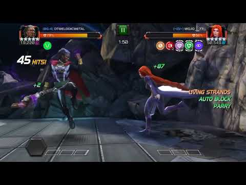 medusa living strands bugged marvel contest of champions