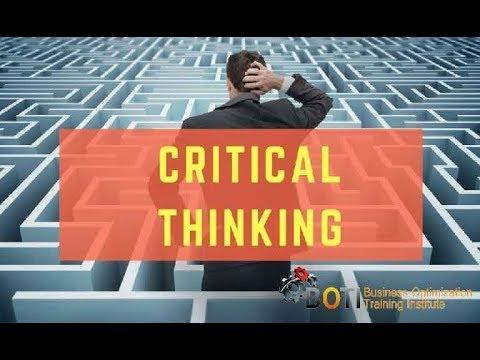 Critical Thinking Training Course - YouTube