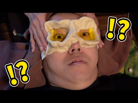 , title : '目の中にバター流し込んだら大変なことにwww