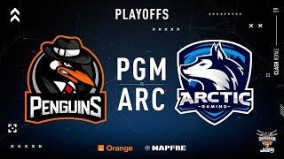 PENGUINS VS Arctic Gaming | Ronda 1 | Finales Superliga Orange 2018-2019