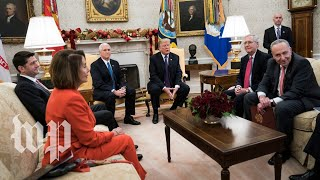 Trump meets with Pelosi, Schumer